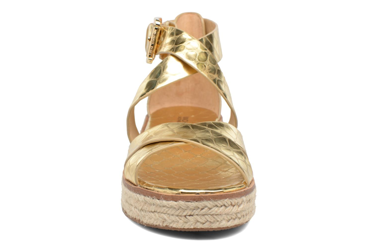 Sandals Michael Michael Kors Darby Sandal Bronze and Gold model view