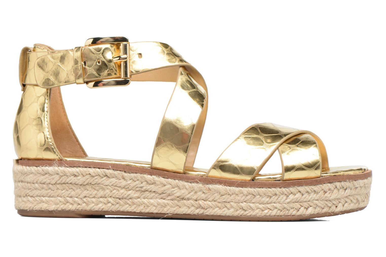 Sandals Michael Michael Kors Darby Sandal Bronze and Gold back view