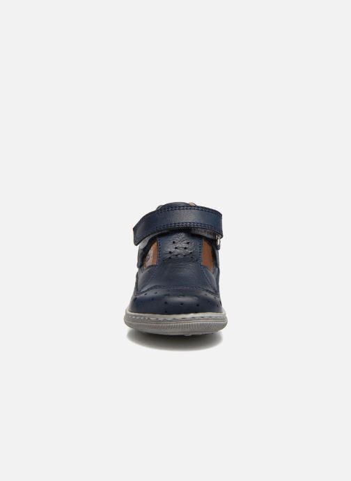 Bottines d'été Romagnoli Arturo Bleu vue portées chaussures