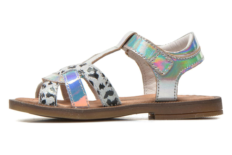 Sandales et nu-pieds Romagnoli Ines Argent vue face