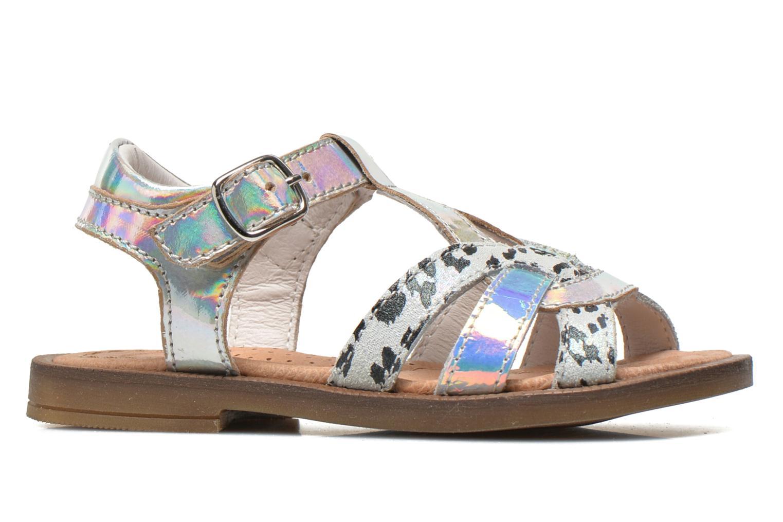 Sandales et nu-pieds Romagnoli Ines Argent vue derrière