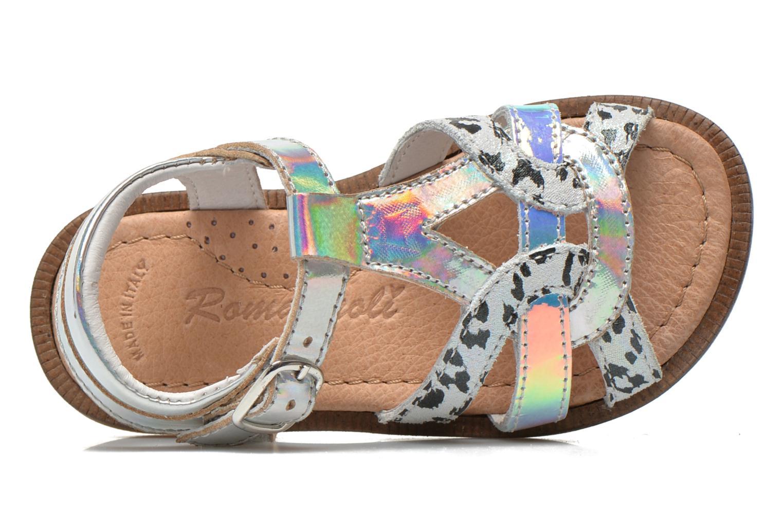 Sandales et nu-pieds Romagnoli Ines Argent vue gauche