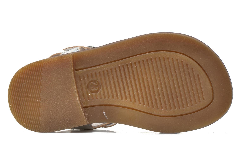 Sandales et nu-pieds Romagnoli Ines Argent vue haut