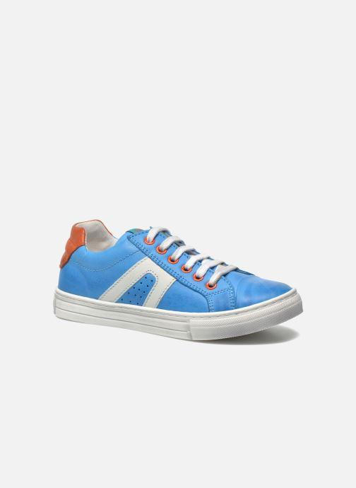 Sneakers Romagnoli Enzo Blauw detail