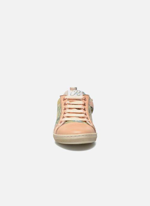 Sneaker Romagnoli Lena rosa schuhe getragen