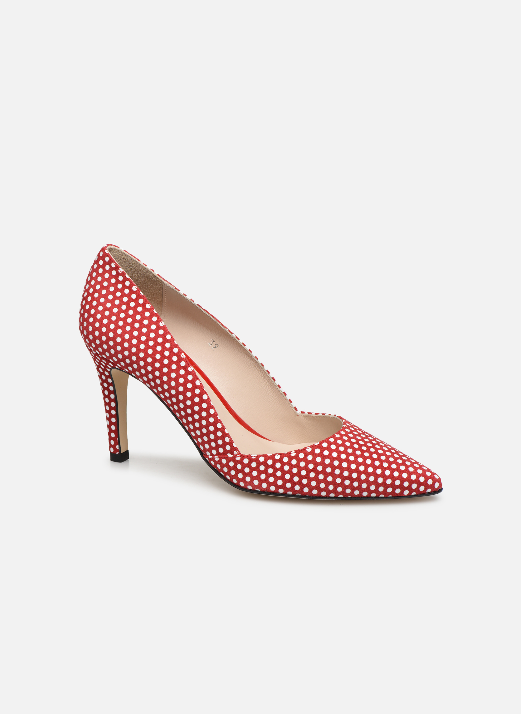 High heels Georgia Rose Fifillotte Red detailed view/ Pair view