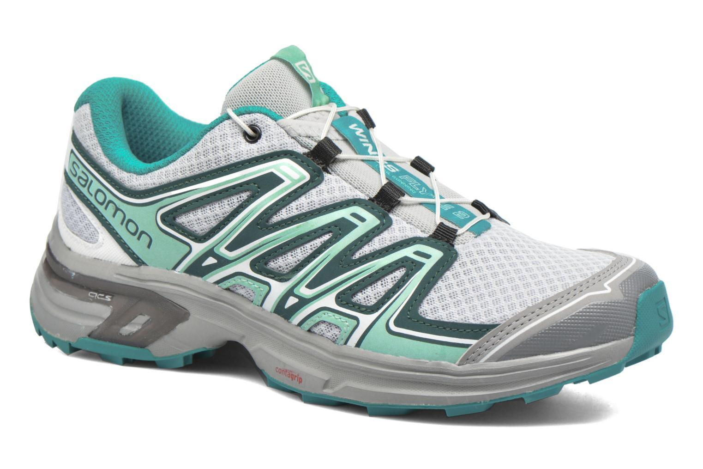 Chaussures de sport Salomon Wings Flyte 2 W Gris vue détail/paire