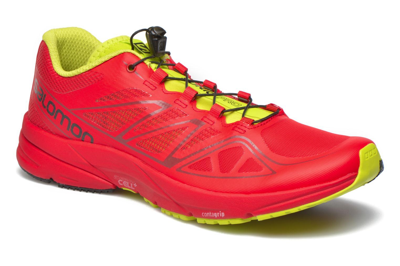 Salomon Sonic Pro (Rouge) - Chaussures de sport en Más cómodo Super rabais