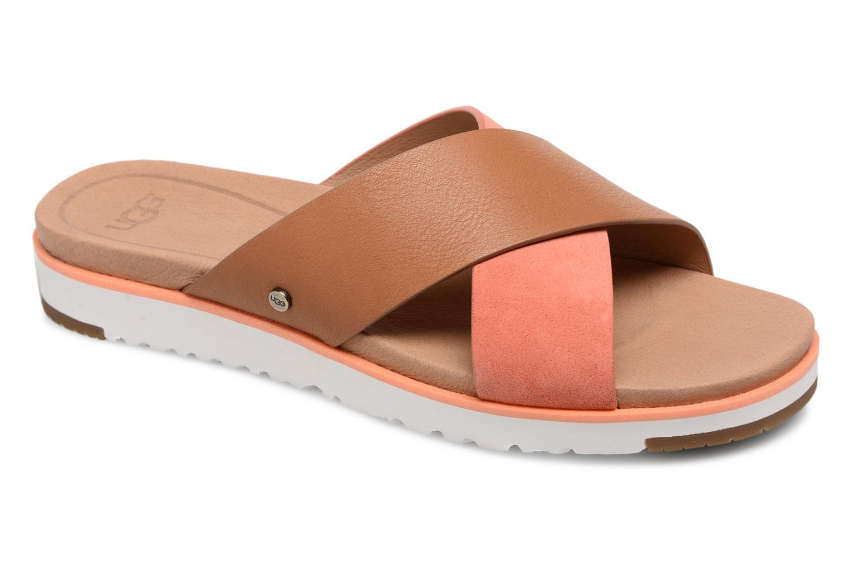 Clogs & Pantoletten UGG Kari orange detaillierte ansicht/modell