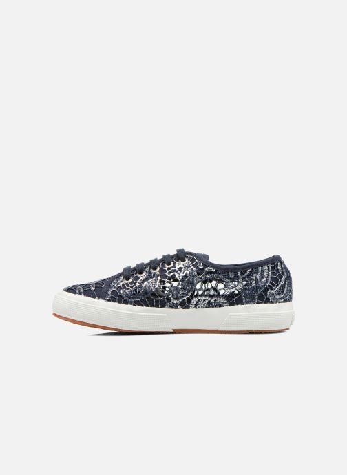 Baskets Superga 2750 Macrame W Bleu vue face