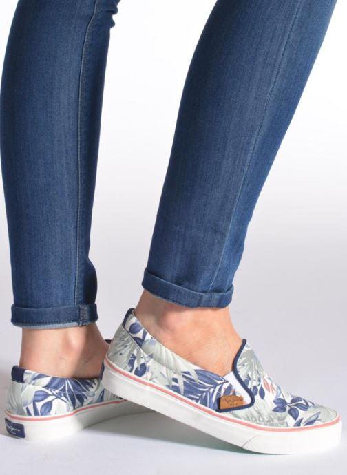 Baskets Pepe jeans Alford Jungle Multicolore vue bas / vue portée sac