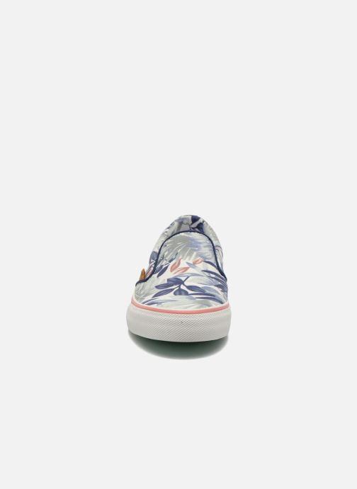 Baskets Pepe jeans Alford Jungle Multicolore vue portées chaussures