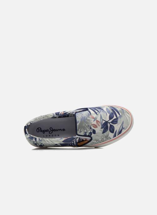 Sneakers Pepe jeans Alford Jungle Multicolore immagine sinistra