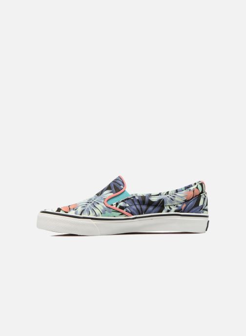 Pepe Sneakers jeans Alford immagine Jungle frontale Multicolore OFUFdqx