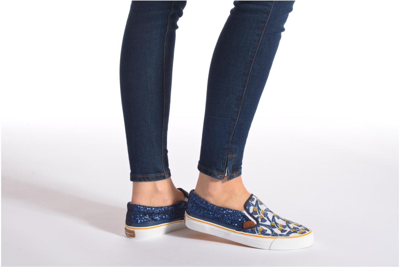 Baskets Pepe jeans Alford Africa Multicolore vue bas / vue portée sac
