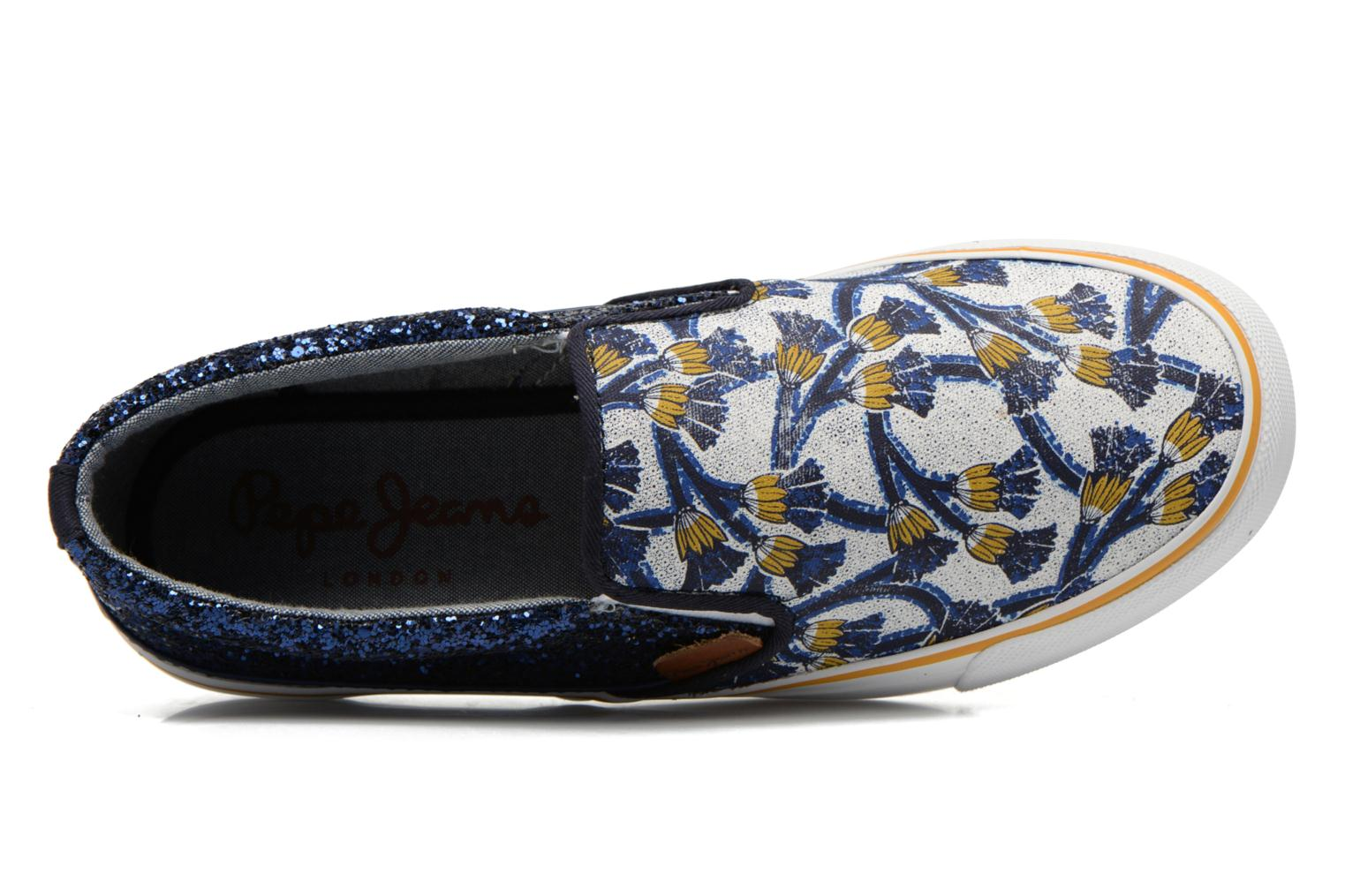 Baskets Pepe jeans Alford Africa Multicolore vue gauche
