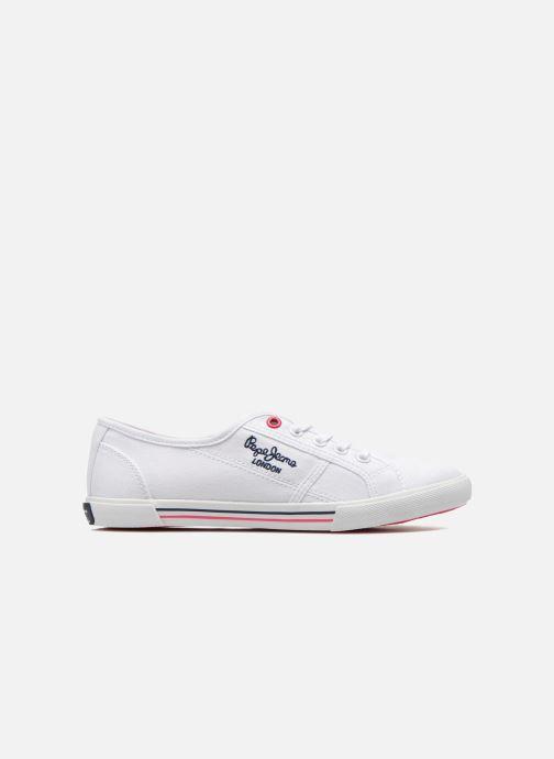 Sneaker Pepe jeans Aberlady Sarenza weiß ansicht von hinten
