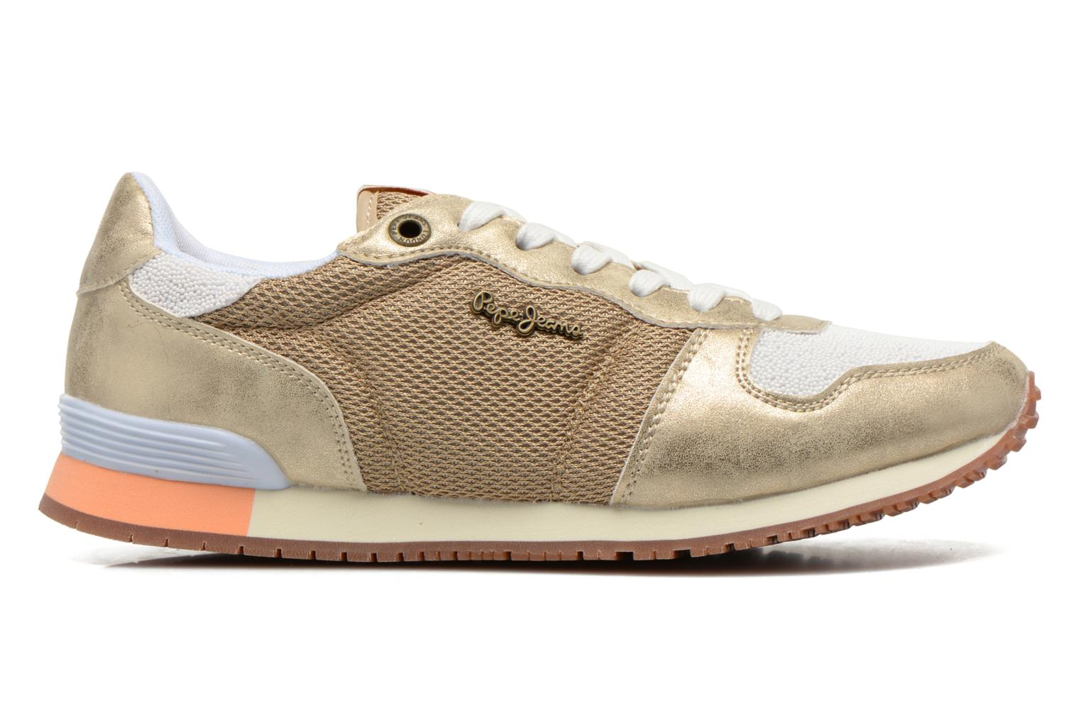 Deportivas Pepe jeans Gable Gold Oro y bronce vistra trasera