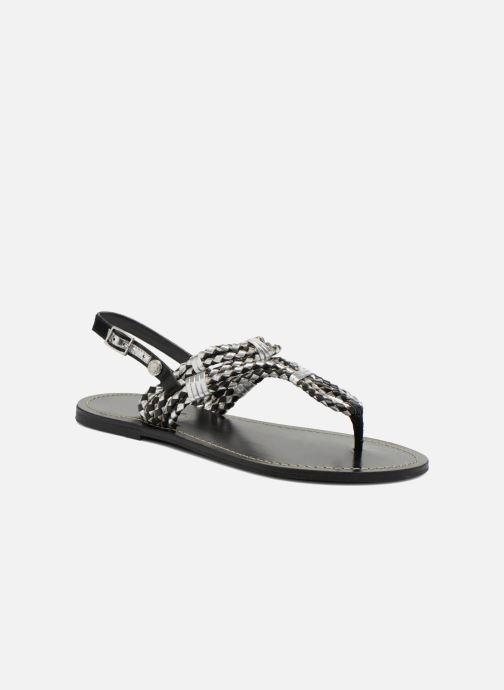 Pepe jeans Jane Woven Metallic (schwarz) - Sandalen bei bei bei Más cómodo 148abb