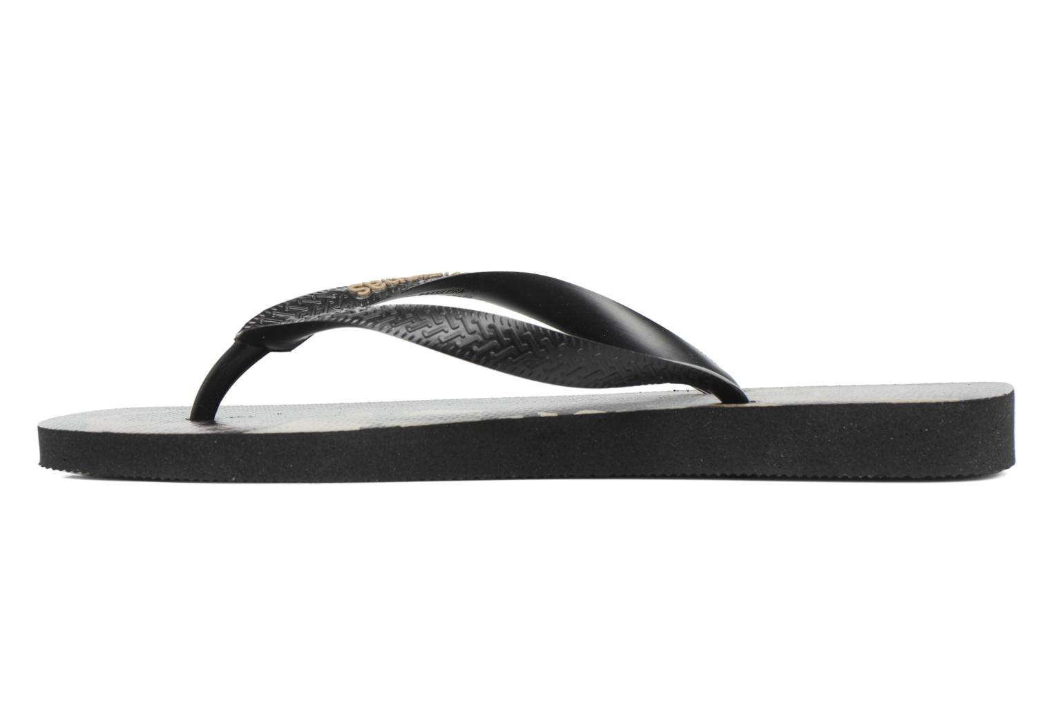 Flip flops Havaianas Star Wars Black front view