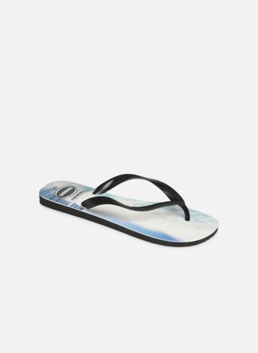 Tongs Havaianas Top Photoprint Bleu vue détail/paire