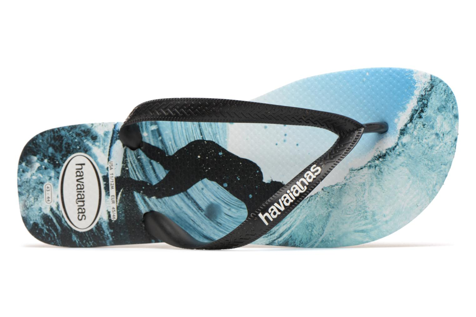 Flip flops Havaianas Top Photoprint Multicolor view from the left