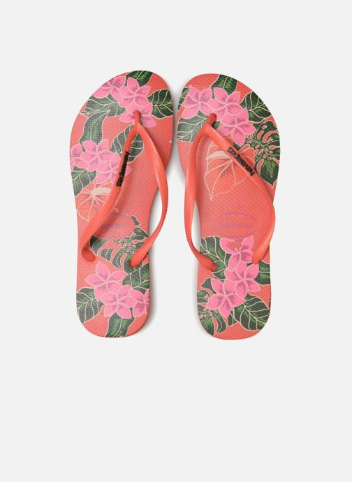 Flip flops Havaianas Slim Floral Multicolor model view