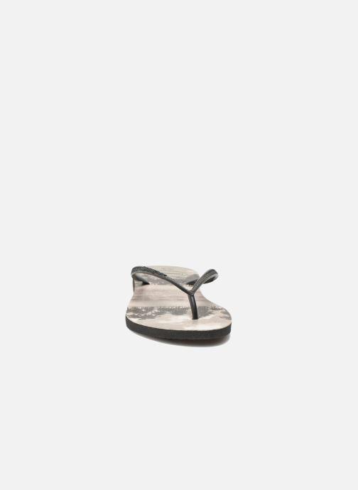 Tongs Havaianas Slim Photoprint Multicolore vue portées chaussures