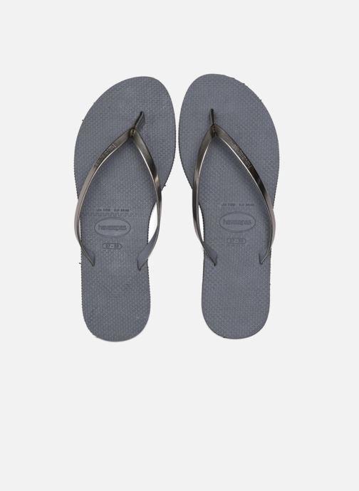 Slippers Havaianas You Metallic Grijs 3/4'