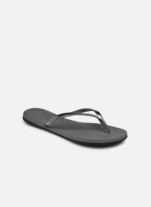 Tongs Havaianas You Metallic Gris vue portées chaussures