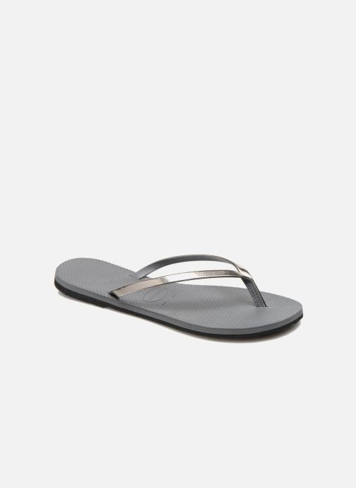 Slippers Havaianas You Metallic Grijs detail