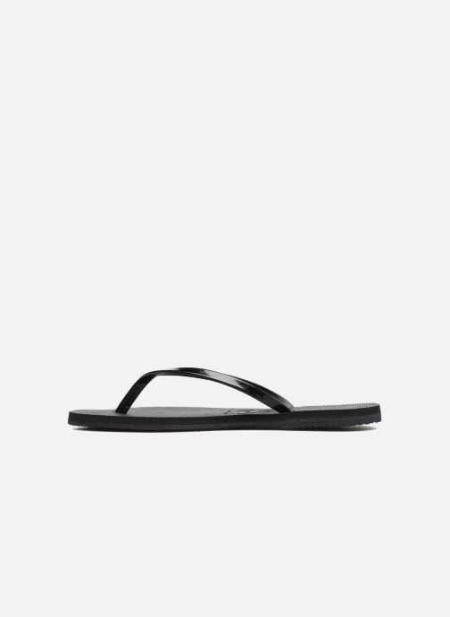 Chanclas Havaianas You Metallic Negro vista de frente