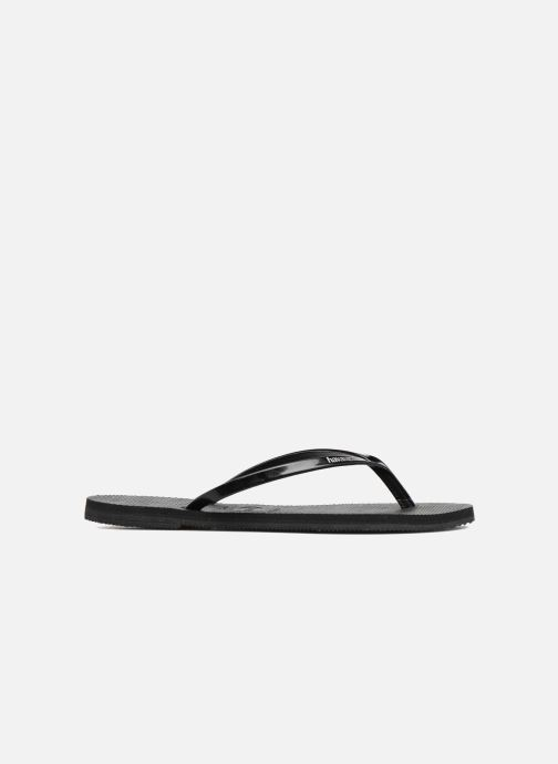 Chanclas Havaianas You Metallic Negro vistra trasera