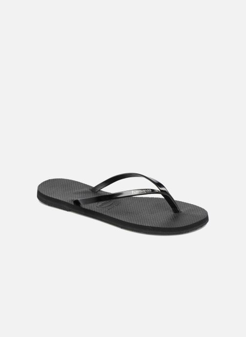 Flip flops & klipklapper Havaianas You Metallic Sort detaljeret billede af skoene