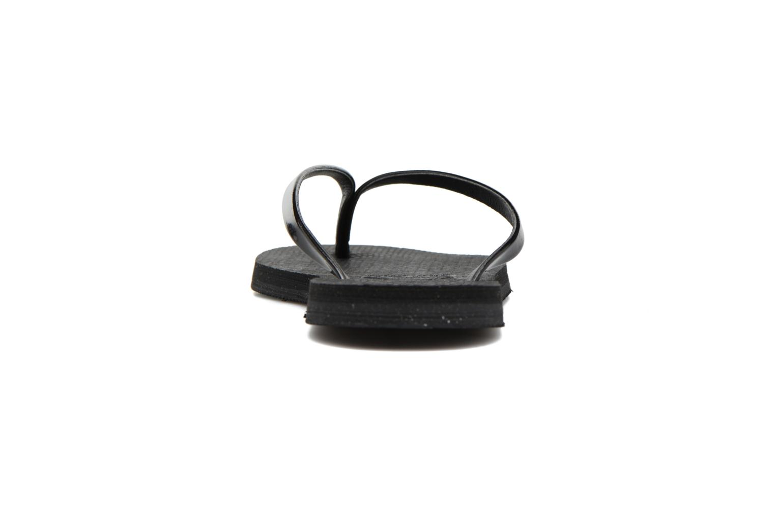 Chanclas Havaianas You Metallic Negro vista lateral derecha
