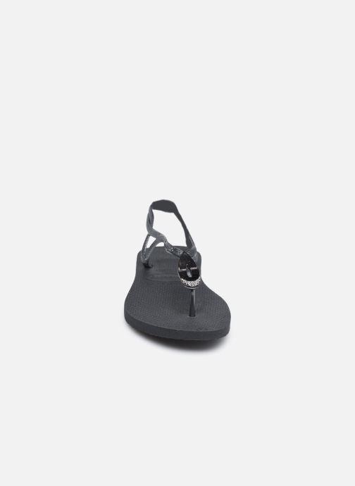 Flip flops & klipklapper Havaianas Luna Especial Sort se skoene på