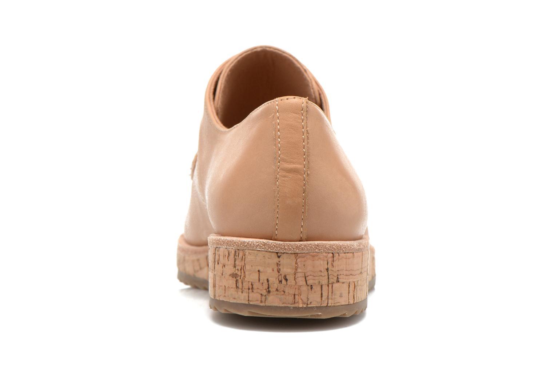 Zapatos con cordones Aldo GATER Beige vista lateral derecha