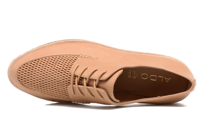 Zapatos con cordones Aldo GATER Beige vista lateral izquierda