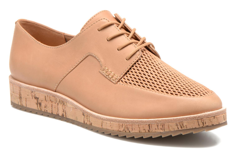 Zapatos con cordones Aldo GATER Beige vista de detalle / par