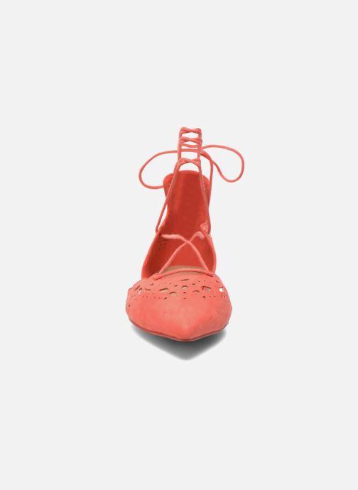 Ballerines Aldo HARMONY Orange vue portées chaussures