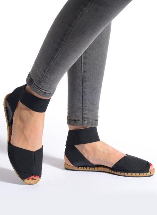 Sandales et nu-pieds Aldo CARYNN Bleu vue bas / vue portée sac