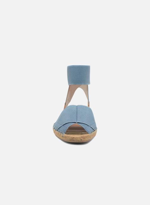 Sandales et nu-pieds Aldo CARYNN Bleu vue portées chaussures