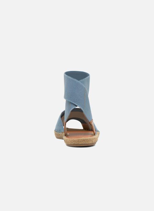 Sandales et nu-pieds Aldo CARYNN Bleu vue droite