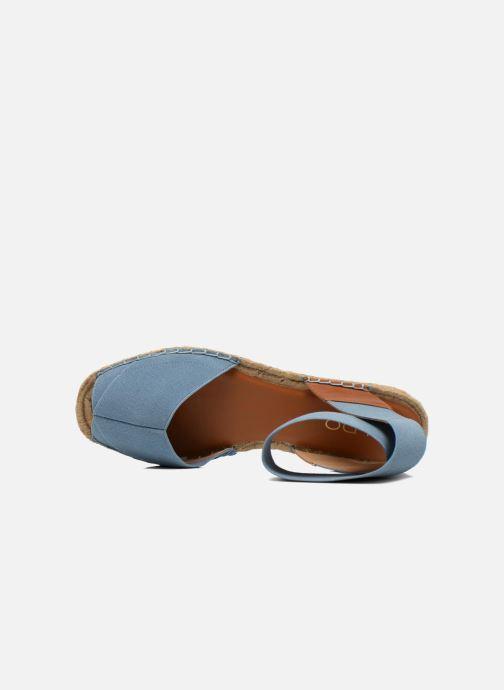 Sandales et nu-pieds Aldo CARYNN Bleu vue gauche