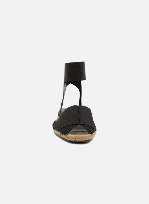 Sandales et nu-pieds Aldo CARYNN Noir vue portées chaussures