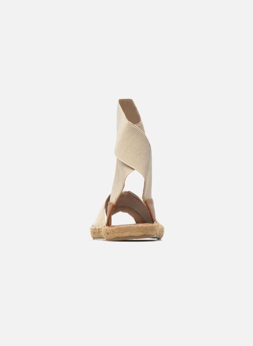 Sandales et nu-pieds Aldo CARYNN Beige vue droite