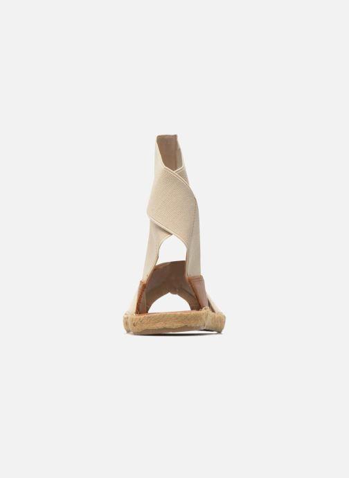 Sandales et nu-pieds Aldo CARYNN Beige vue derrière