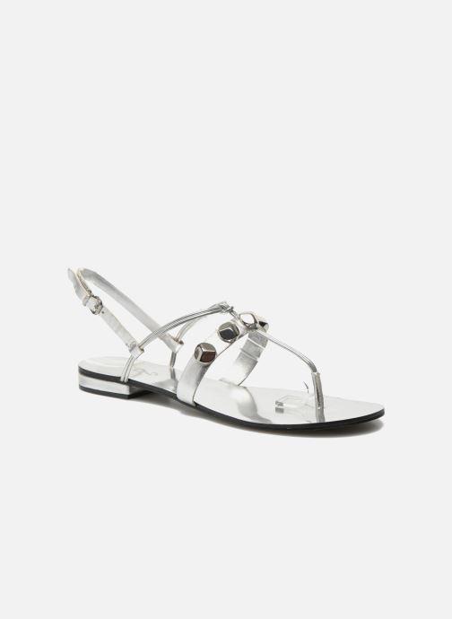 Sandales et nu-pieds Aldo YELLA Argent vue détail/paire