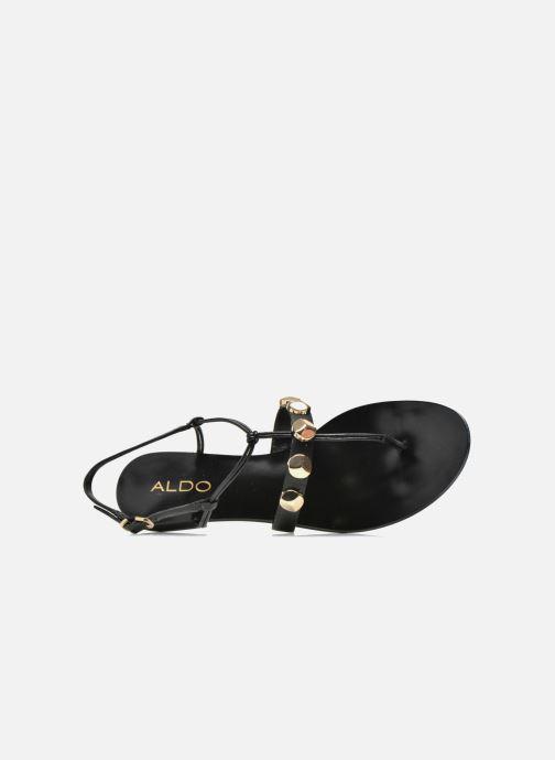 Sandales et nu-pieds Aldo YELLA Noir vue gauche