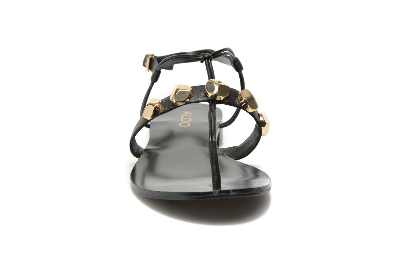 Sandales et nu-pieds Aldo YELLA Noir vue portées chaussures